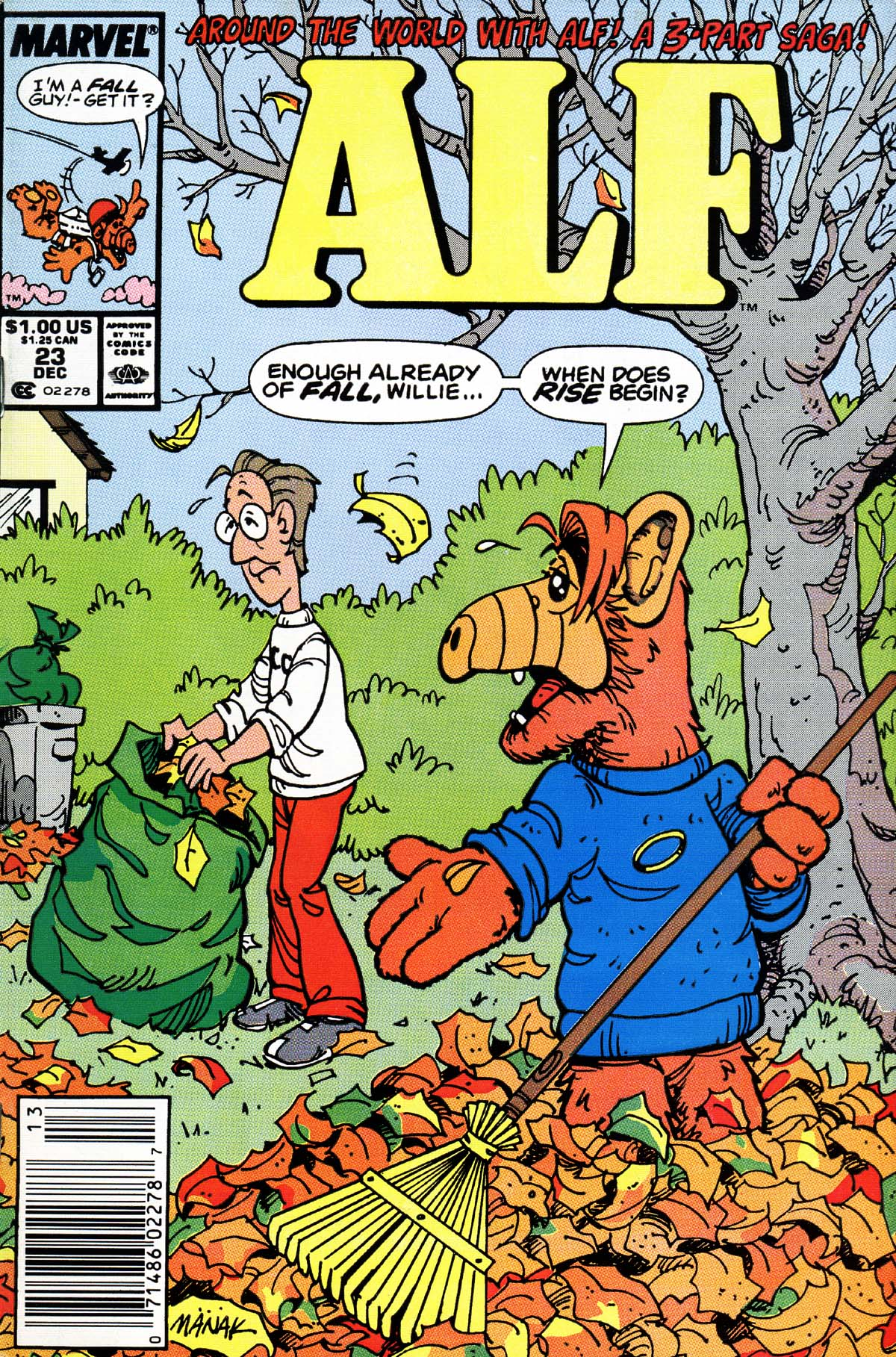 Read online ALF comic -  Issue #23 - 1