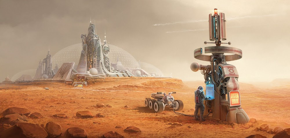 Mars colony by Alexey Shugurov
