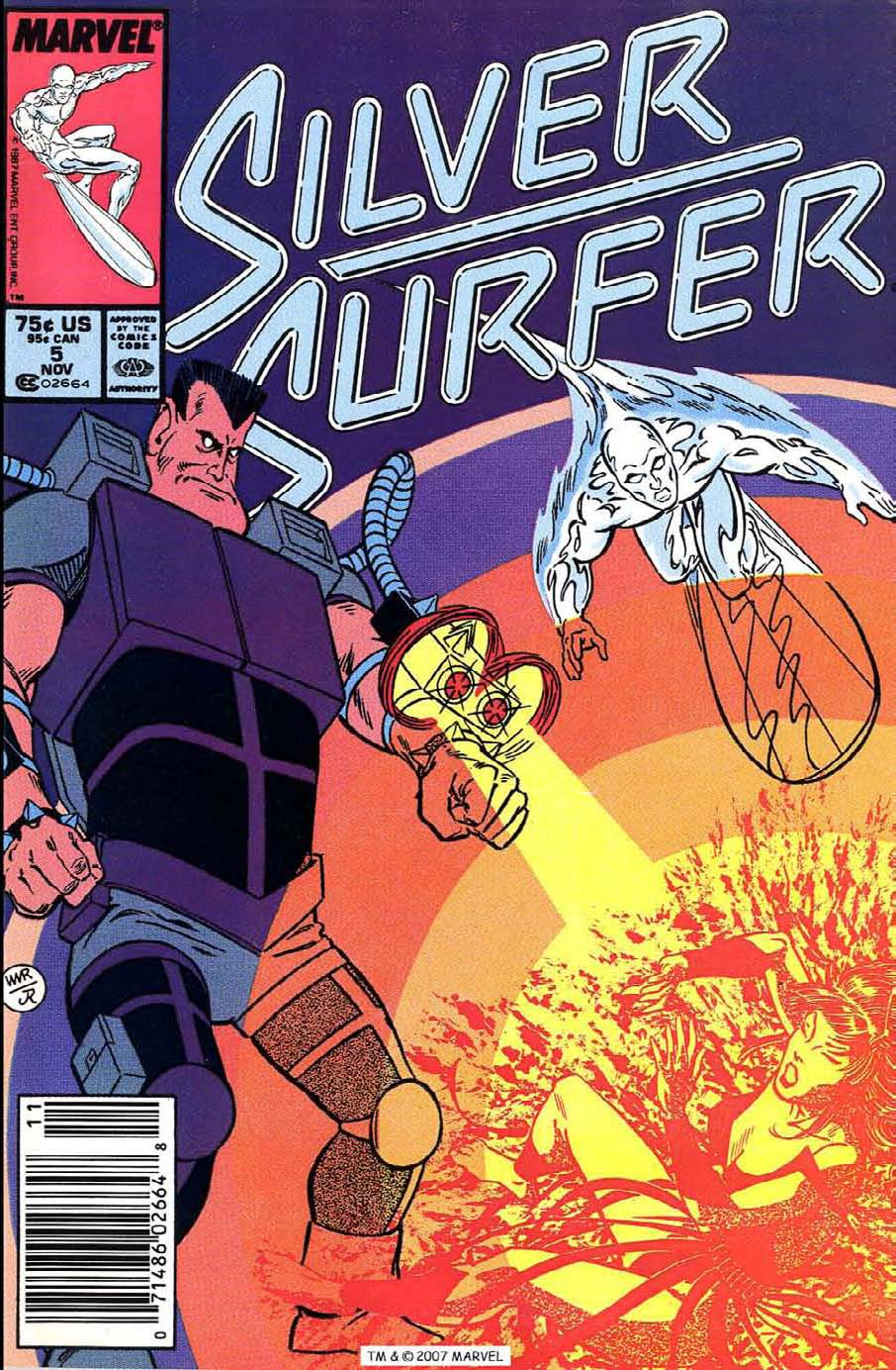 Read online Silver Surfer (1987) comic -  Issue #5 - 1