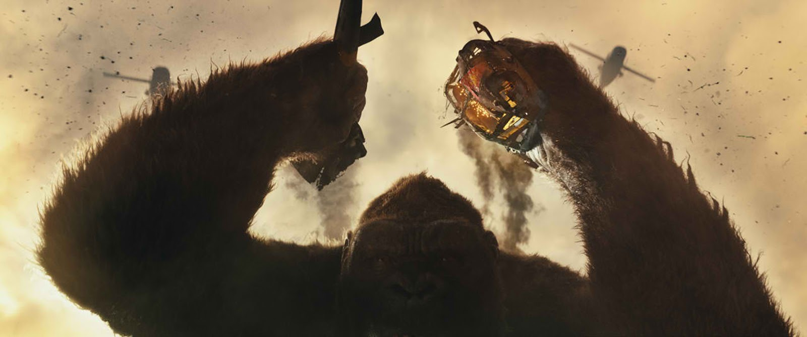 Kong: Skull Island - Art Destruction