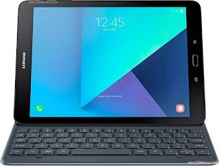 Samsung Galaxy Tab S3 9.7 dengan keyboard