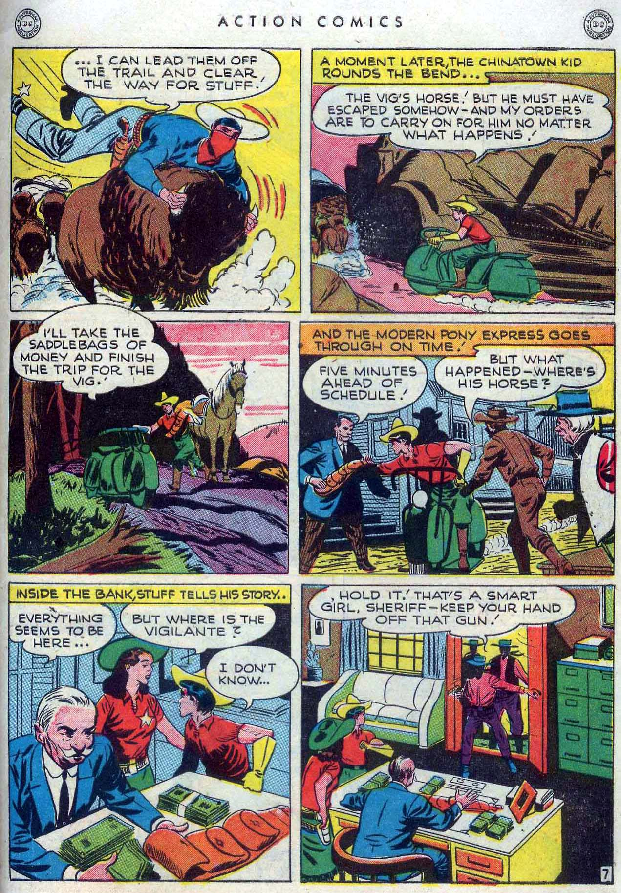 Read online Action Comics (1938) comic -  Issue #110 - 35