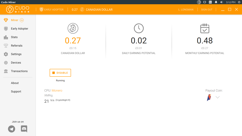 Cudo Miner | Cryptocurrency Mining Software | GUI GPU Multiminer