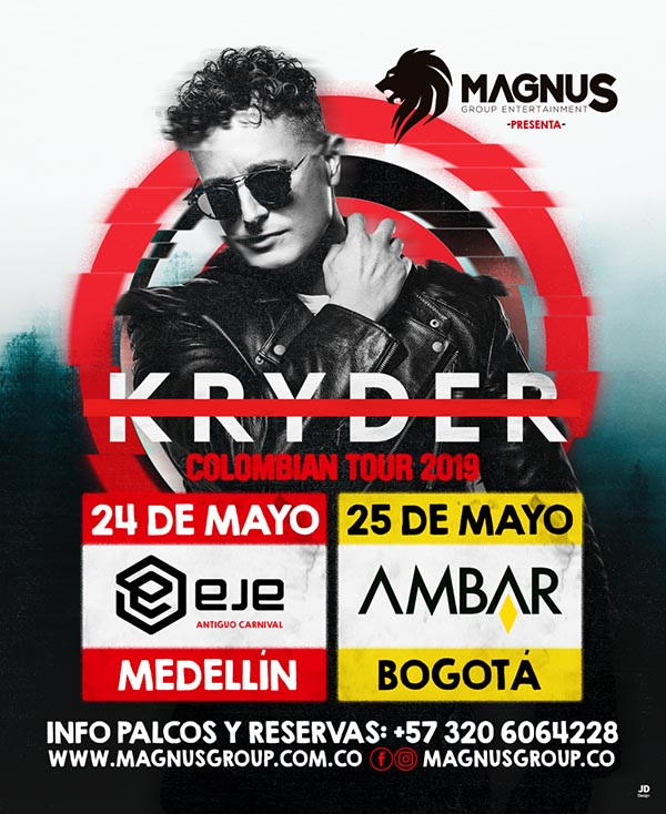Kryder-The-King-of-Groove-Colombia