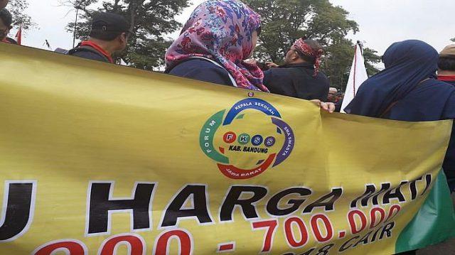 FKSS Meminta DPRD Jabar, Perjuangkan Pencairan Dana BPMU