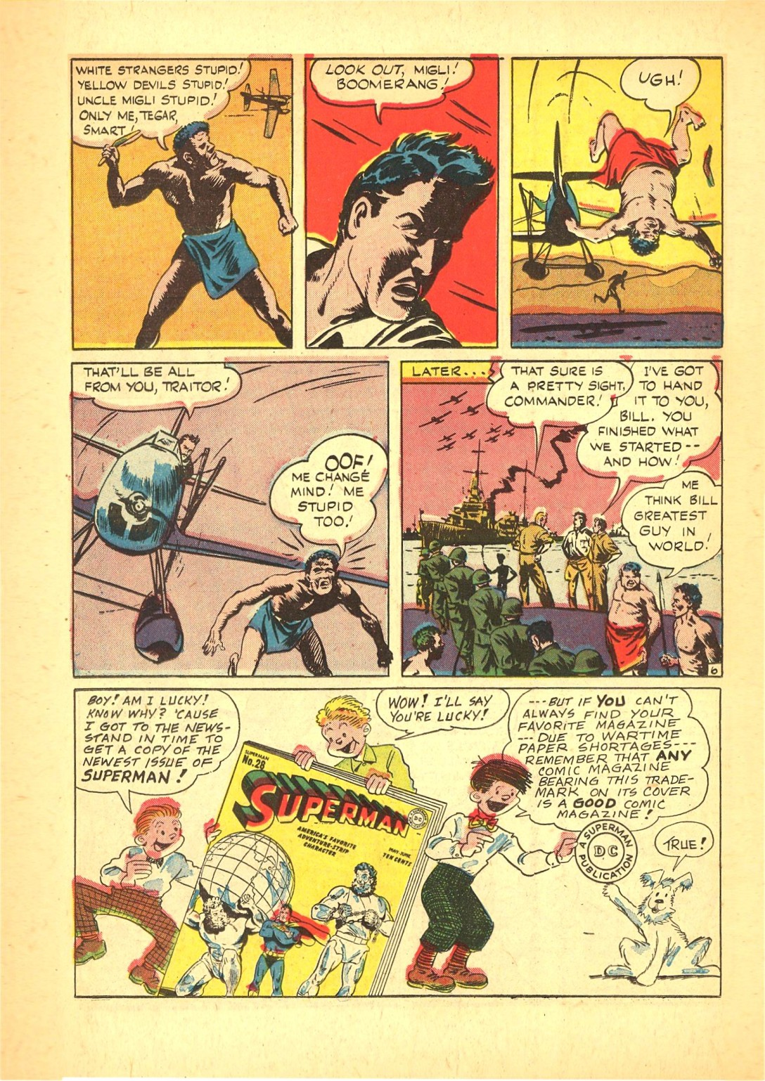 Read online Action Comics (1938) comic -  Issue #72 - 37
