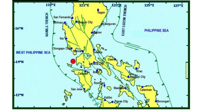 Magnitude 5.5 earthquake jolts Nasugbu, Batangas