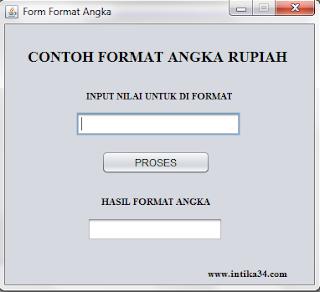 tutorial netbeans, format angka, netbeans, java, format rupiah