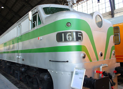 Tren diésel. Museo del Ferrocarril de Madrid