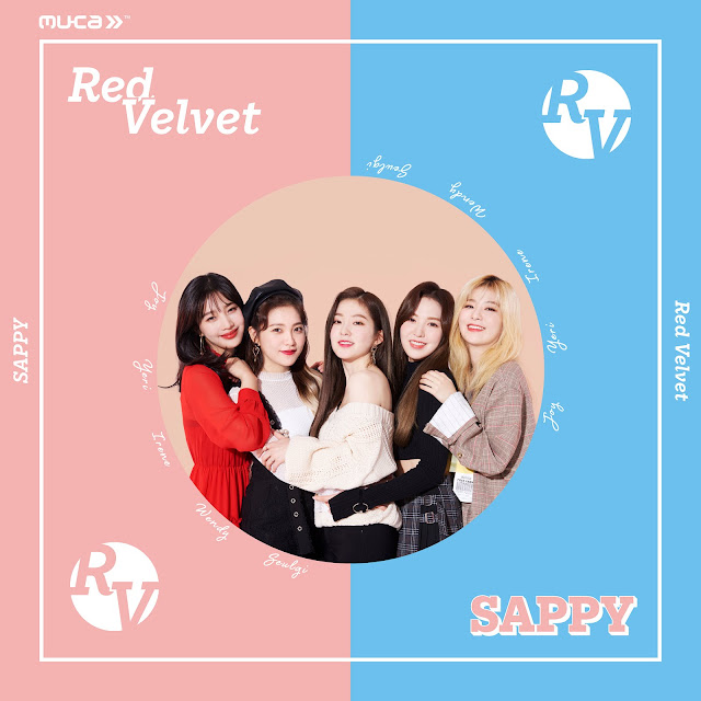 red velvet japon comeback single digital sappy