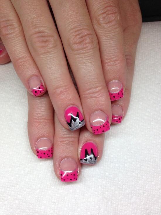 Gel Nail Designs, acrylic nail, winter nails, Nail Art,