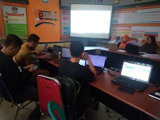 Rakor PPK Divisi Data Pemilih Untuk Pengerjaan DPK & DPTb di Sidalih