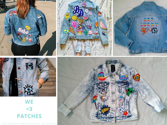 tendência: patches nas jaquetas
