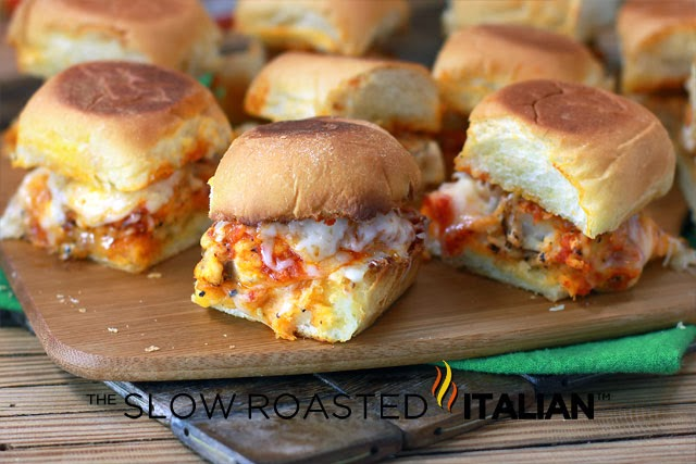 Chicken Parmesan Sliders With Video