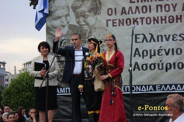 Θ. Μαλκίδης: Η Γενοκτονία δεν σταμάτησε αλλά συνεχίζεται μέχρι σήμερα (Video)