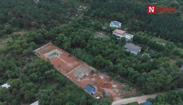 Các công trình nằm trong rừng phòng hộ