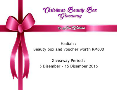 Christmas Beauty Box Giveaway Worth RM600 by Anil Wanin