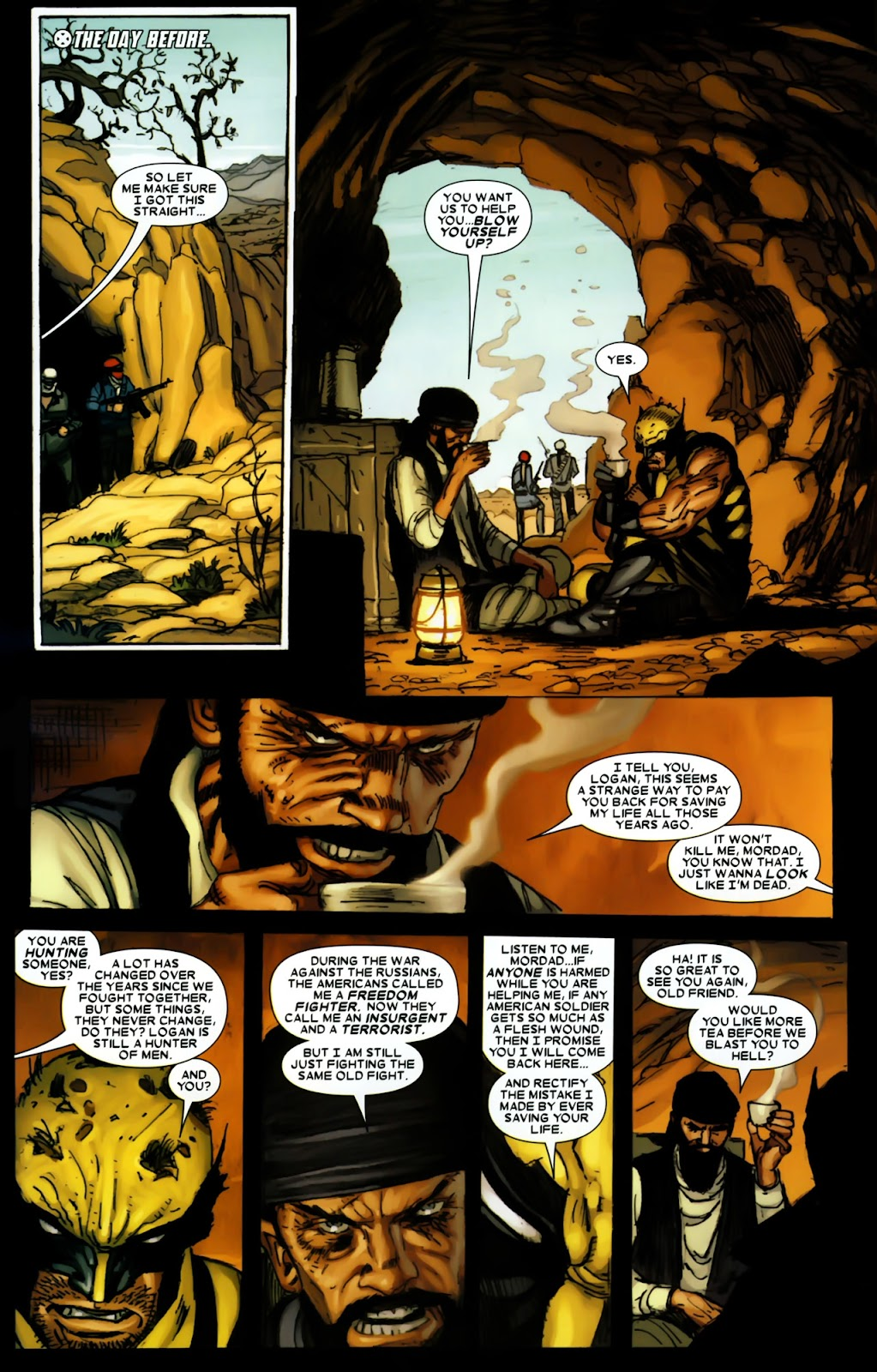 Read online Wolverine (2003) comic -  Issue #64 - 9