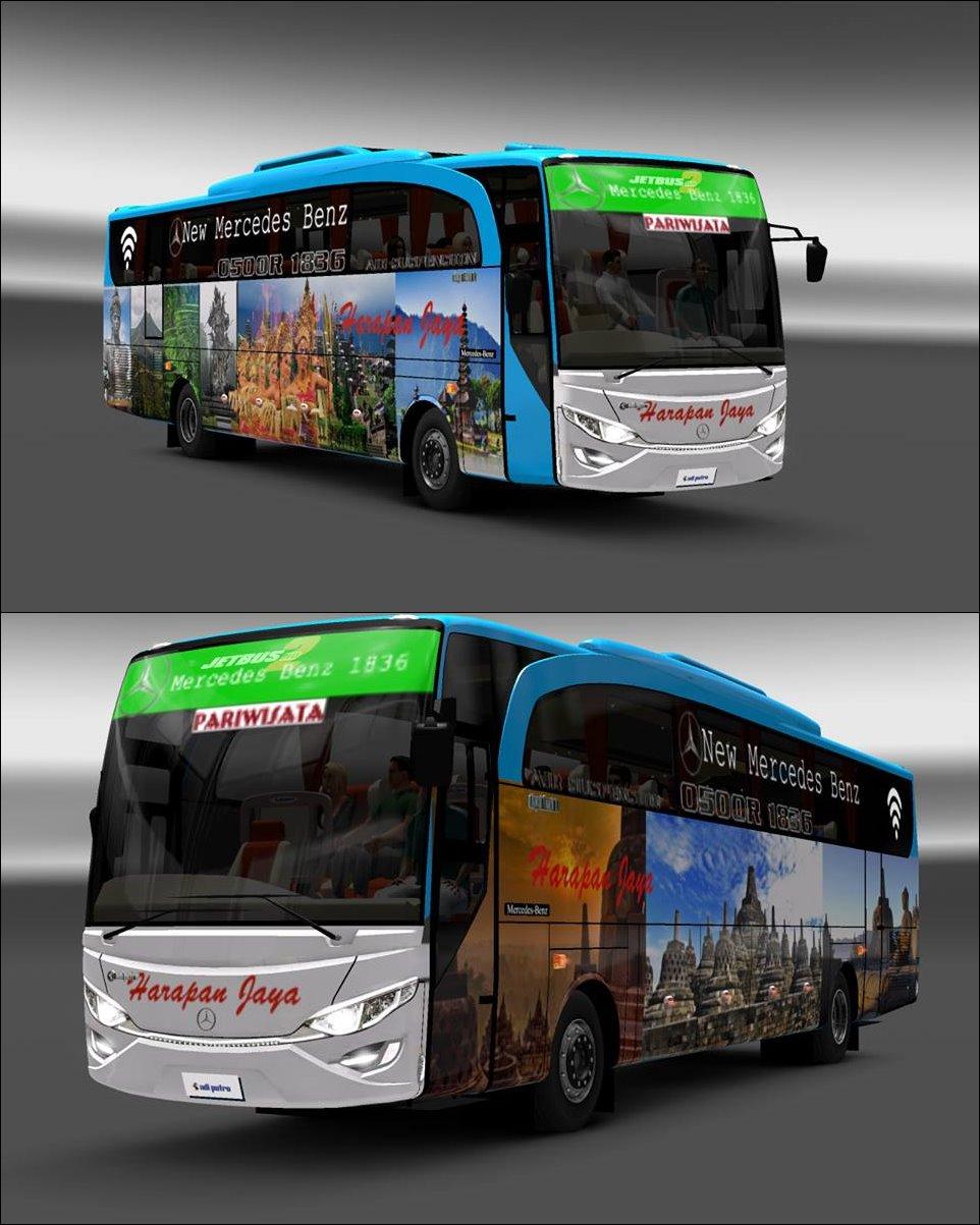 Kumpulan Skin Livery Bus Ets2 Part 5 Mod Indonesia Euro Truck Simulator 2 V130 Dan Harapan Jaya Putri Bali Borobudur Beserta Stiker Kaca By Faldy Rahmadi For Jetbus Hd Mhusni Co Mm Pariwisata