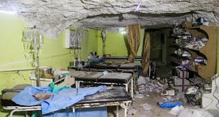 Rezim Syiah Asad Targetkan 107 Dari 130 Rumah Sakit Di Suriah Sepanjang 2016