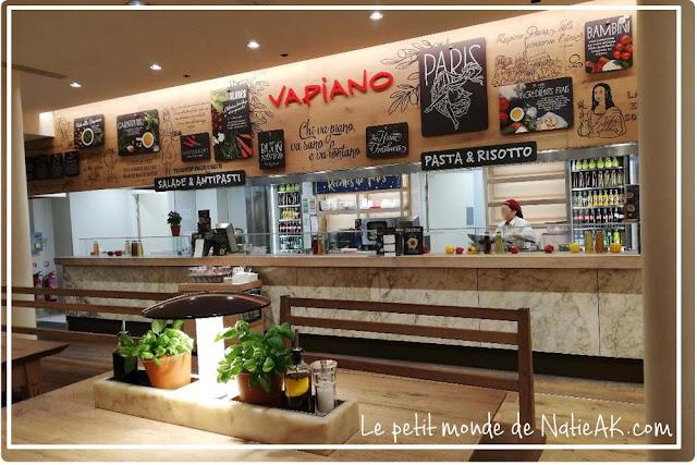 Restaurant Vapiano des Champs-Elysées