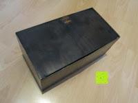 Verpackung: Adventskalender als piratige rustikale Schatztruhe - 24 einzelnen Schatzboxen - Ideal für den Advent