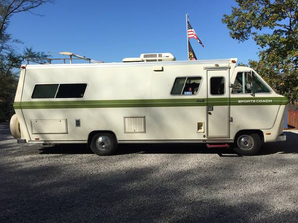 Used RVs 1973 Sportscoach Motor Home For Sale For Sale by Owner