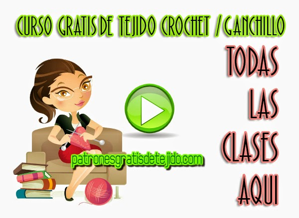 Clases magistrales en video de ganchillo