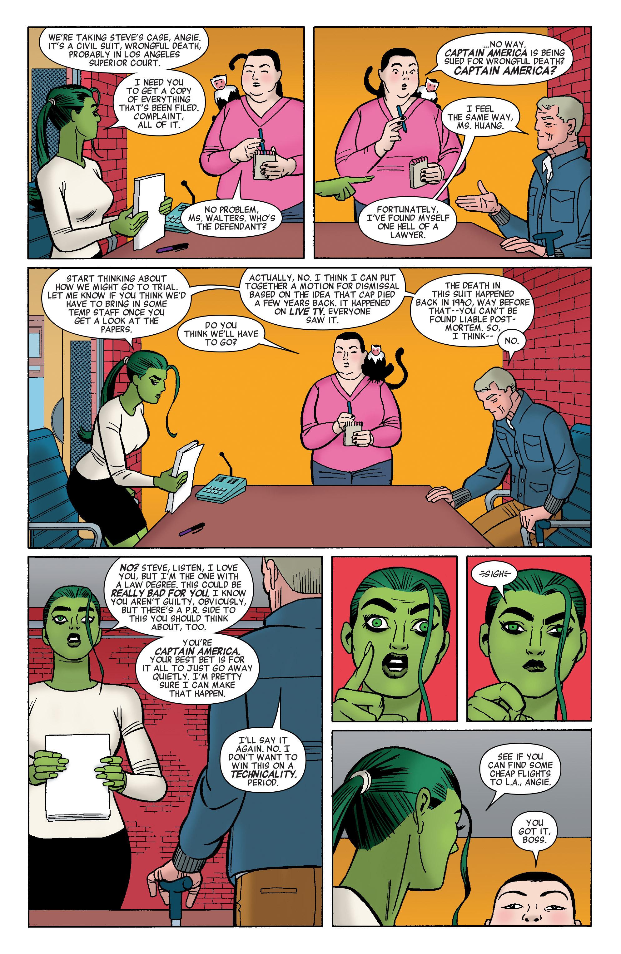 Read online She-Hulk (2014) comic -  Issue #8 - 8