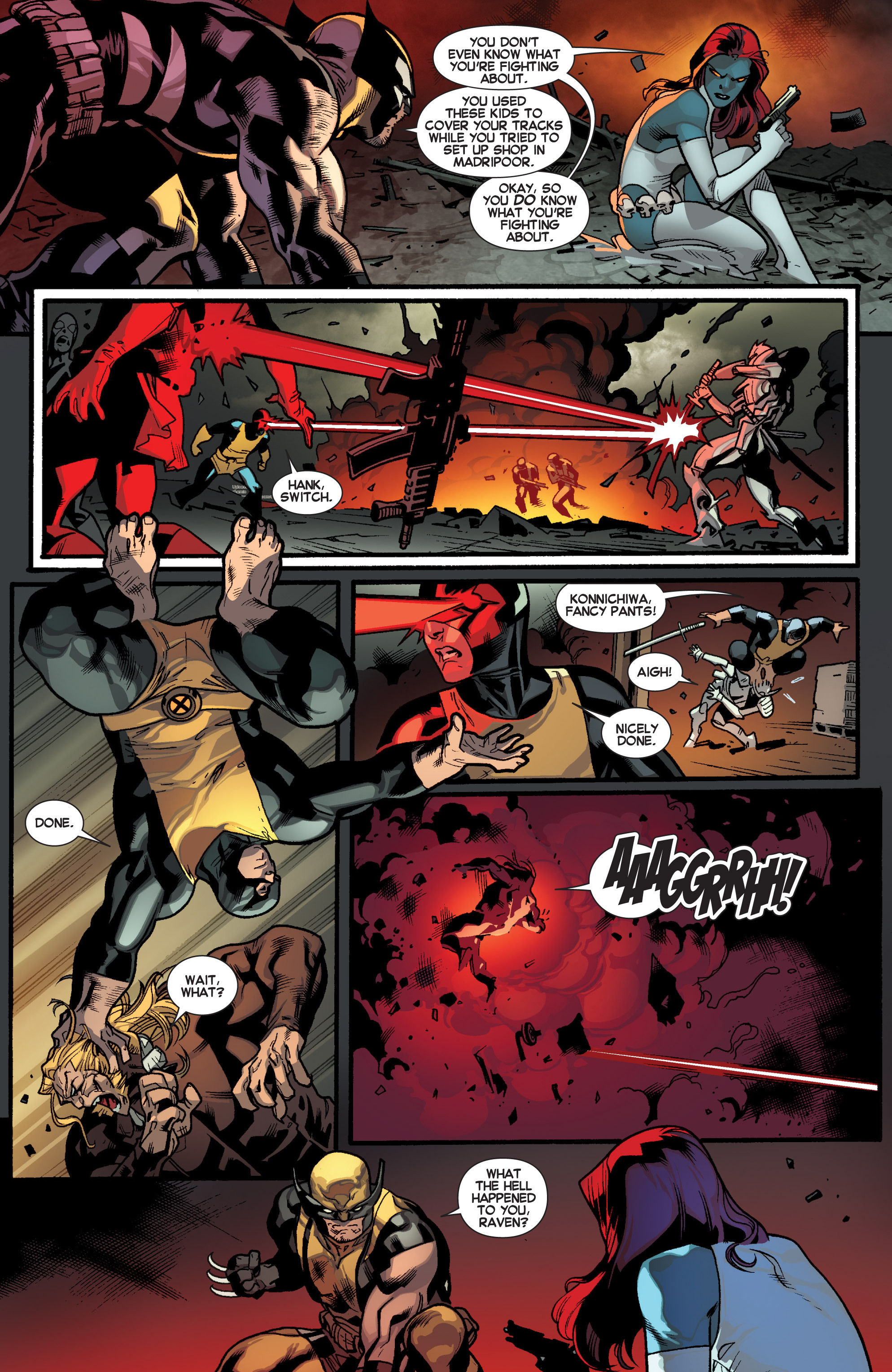 Read online All-New X-Men (2013) comic -  Issue # _Special - Out Of Their Depth - 77
