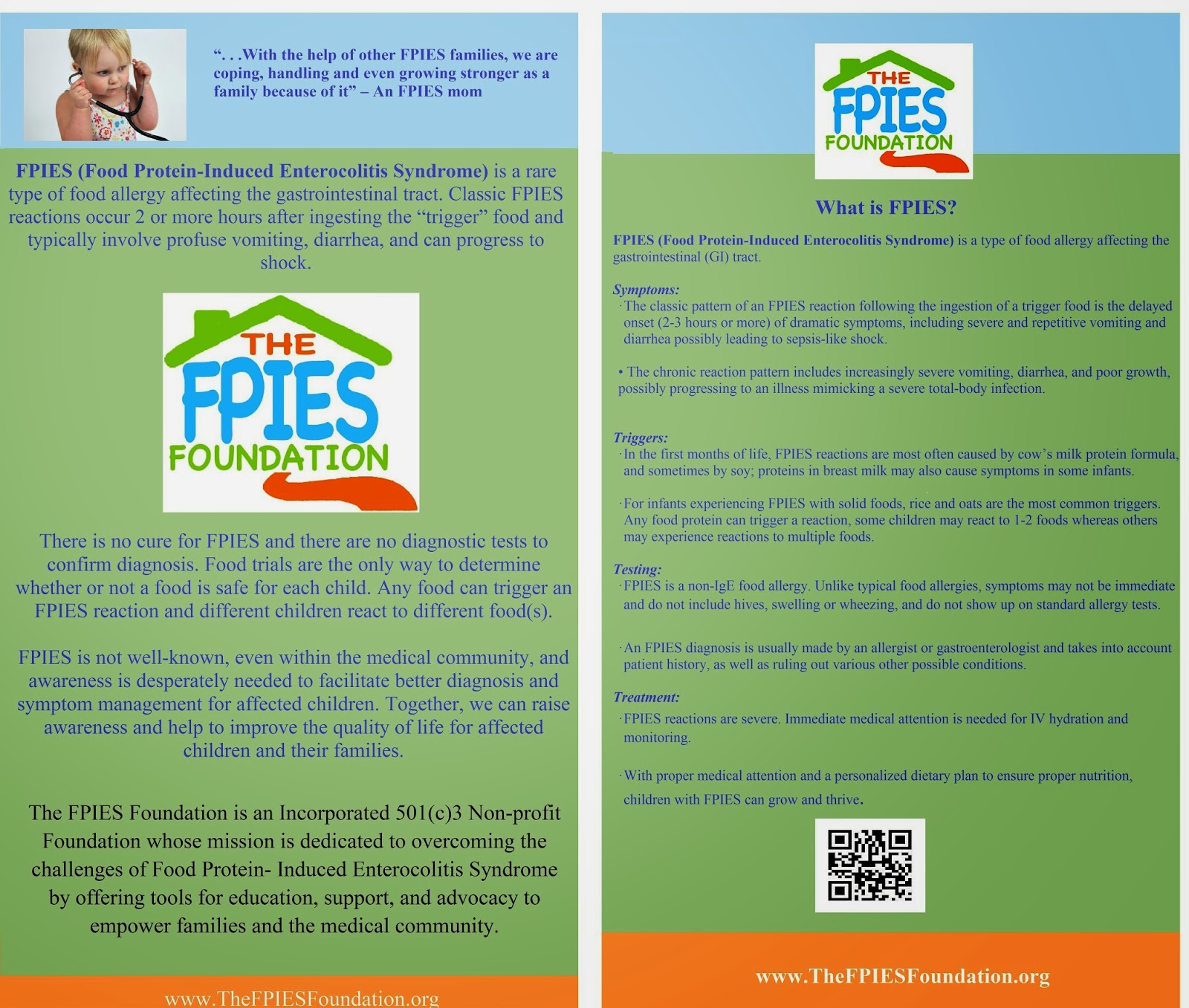 Fpies Home The Blog Of The Fpies Foundation 2013