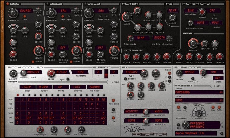 Rob papen predator mac sale