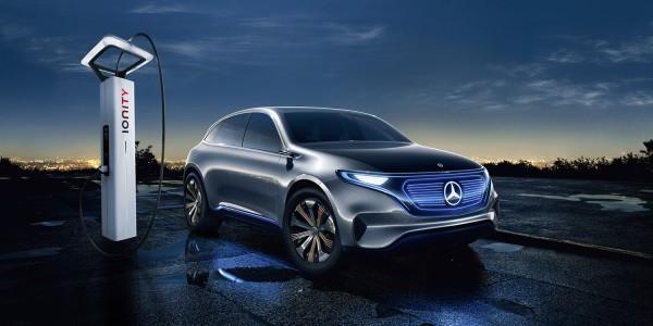 Mercedes EQC официально представят на следующей неделе