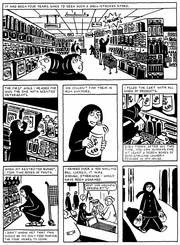 Read Chapter 1 - The Soup, page 6, from Marjane Satrapi's Persepolis 2 - The Story of a Return
