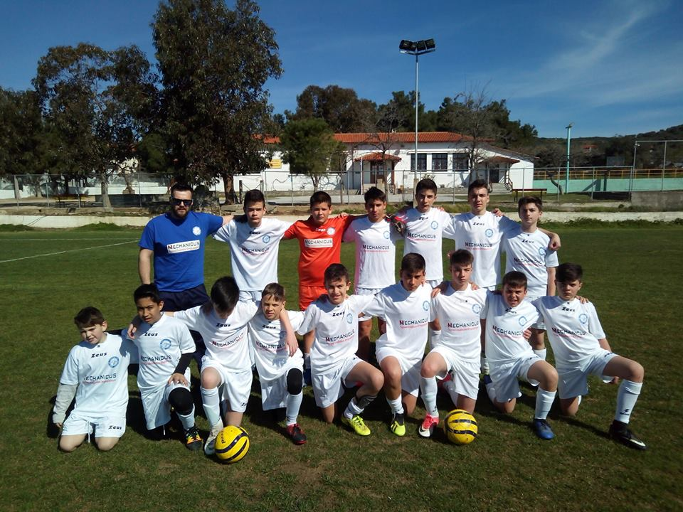 Με το δεξί ξεκινήσε η Ακαδημία Ηρακλής Μ.Παναγίας στο πρωτάθλημα Κ14