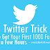 Buy 1000 Twitter Followers For $1 [Money Back Guarantee Service]