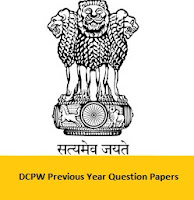DCPW Previous Year Question Papers
