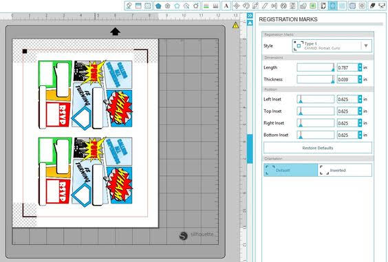 save as PDF, export as PDF, silhouette studio, print and cut, silhouette tutorial