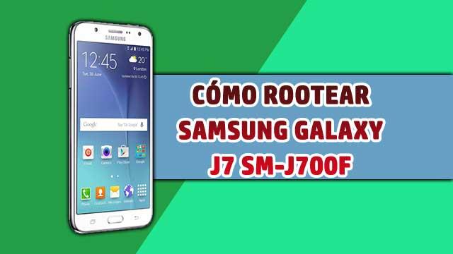 Cómo ROOTEAR Samsung Galaxy J7 SM-J700F
