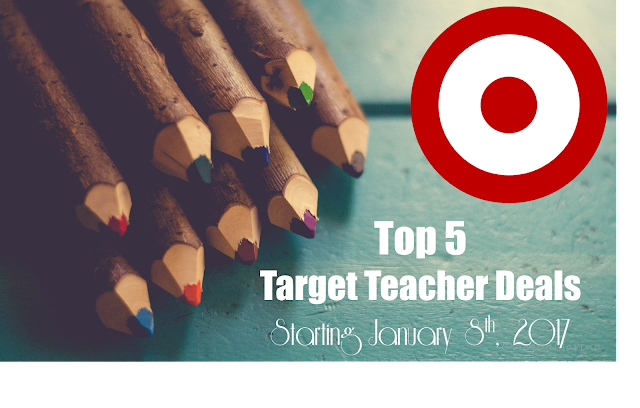 Target Teacher Deals Starting 1/8/17