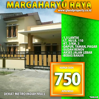 rumah second rumah bekas margahayu