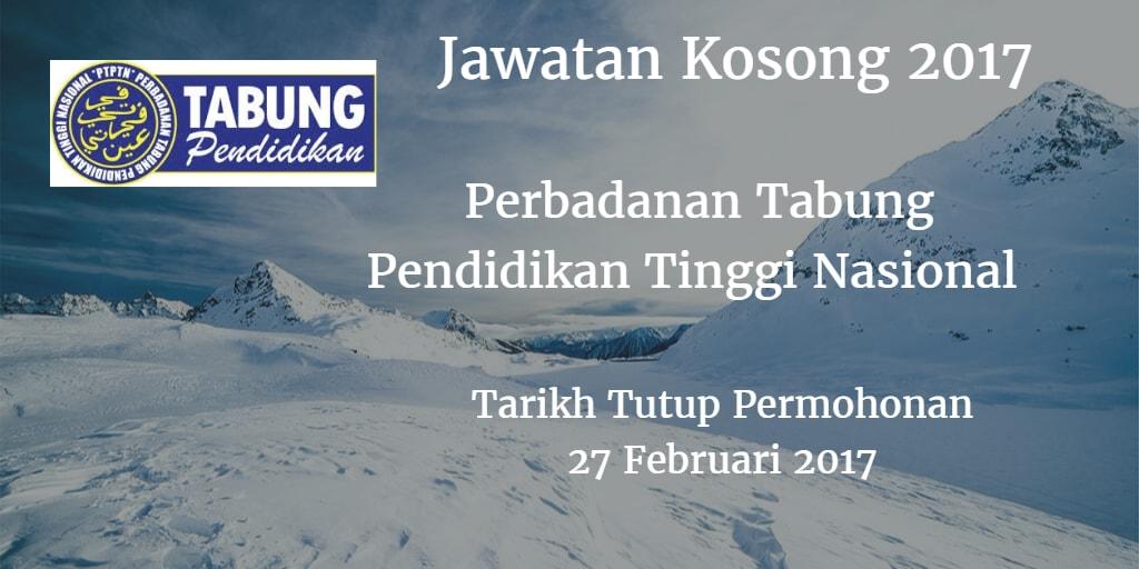 Jawatan Kosong PTPTN 27 Februari 2017