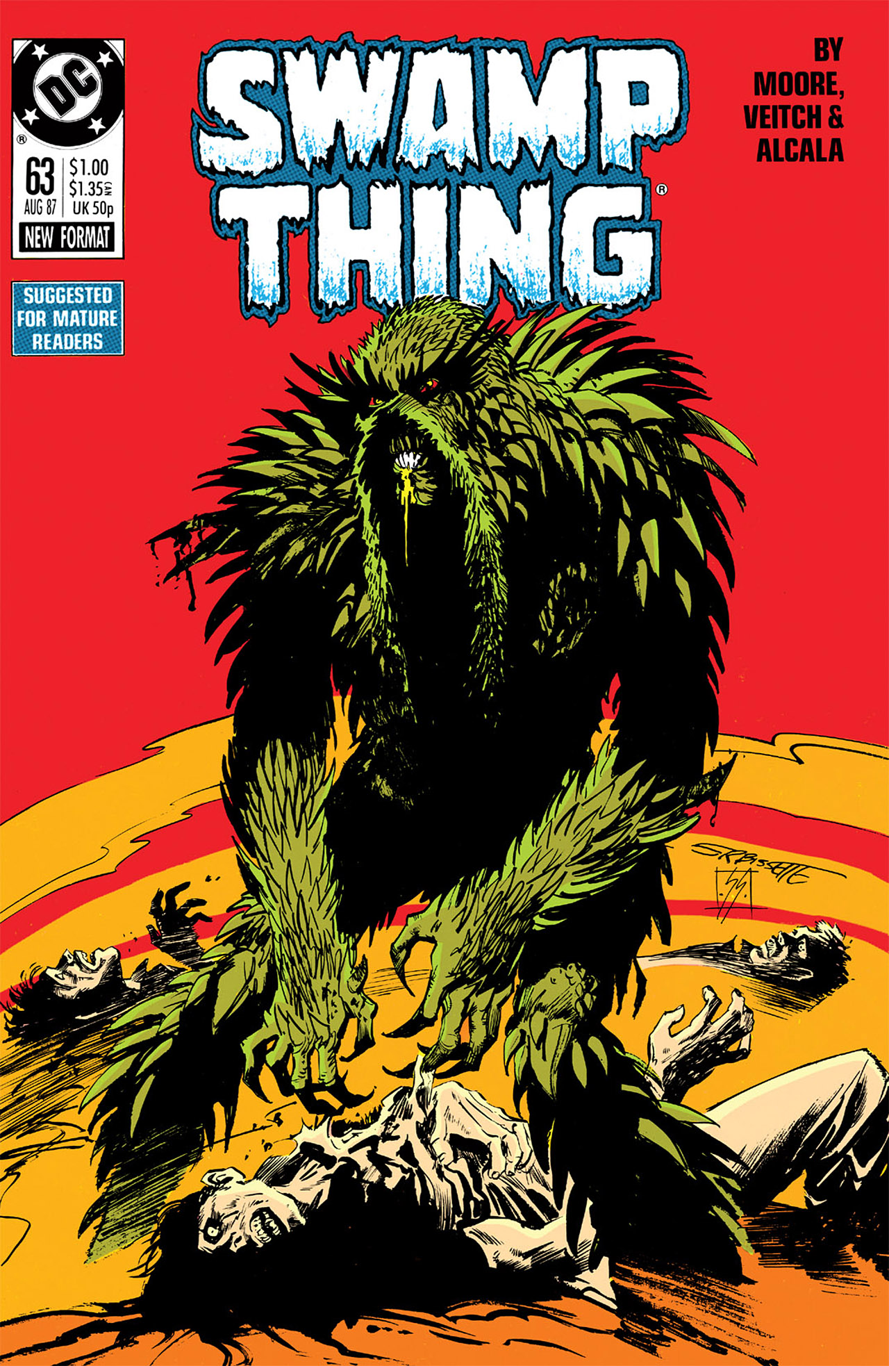 Swamp Thing (1982) Issue #63 #71 - English 1