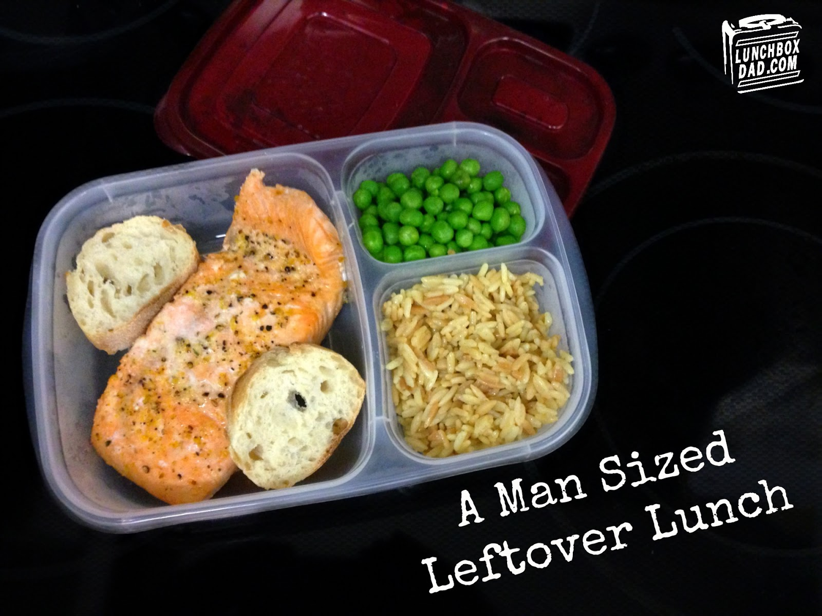 A Man Sized Leftover Lunch