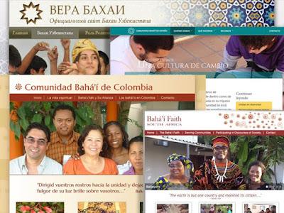 вебсайты бахаи