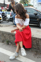 Shriya Saran looks super cute in off shoulder top and Red Skirt ~  Exclusive Celebrities Galleries 050.JPG