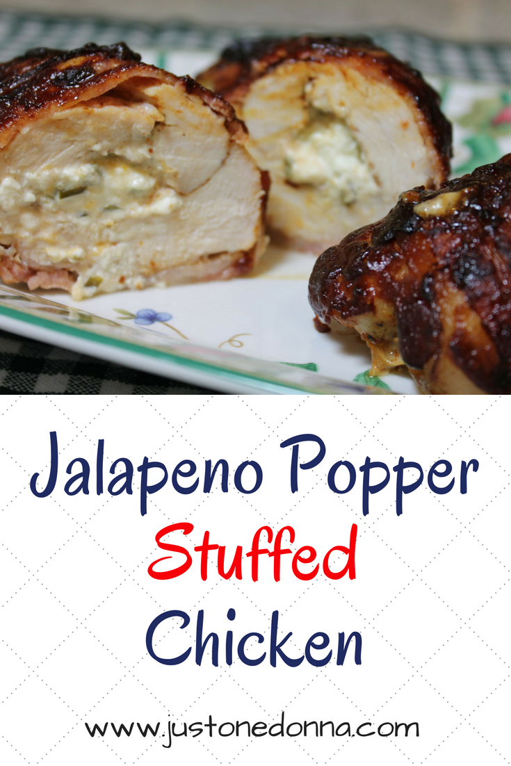 Inspired by Jalapeno Poppers, this stuffed chicken is packed with ...