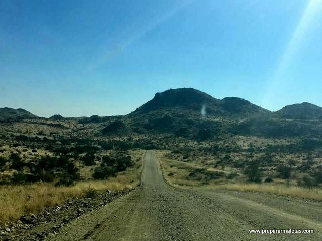 carreteras tipo D en Nambia