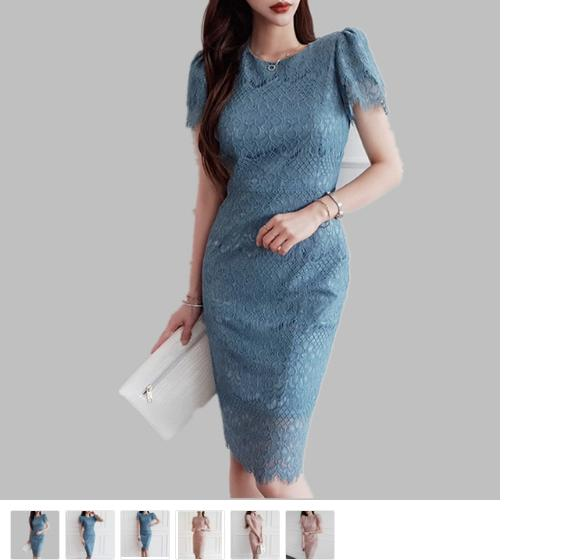 Dress Shop Sale - White Dress Usa - Silk Dress