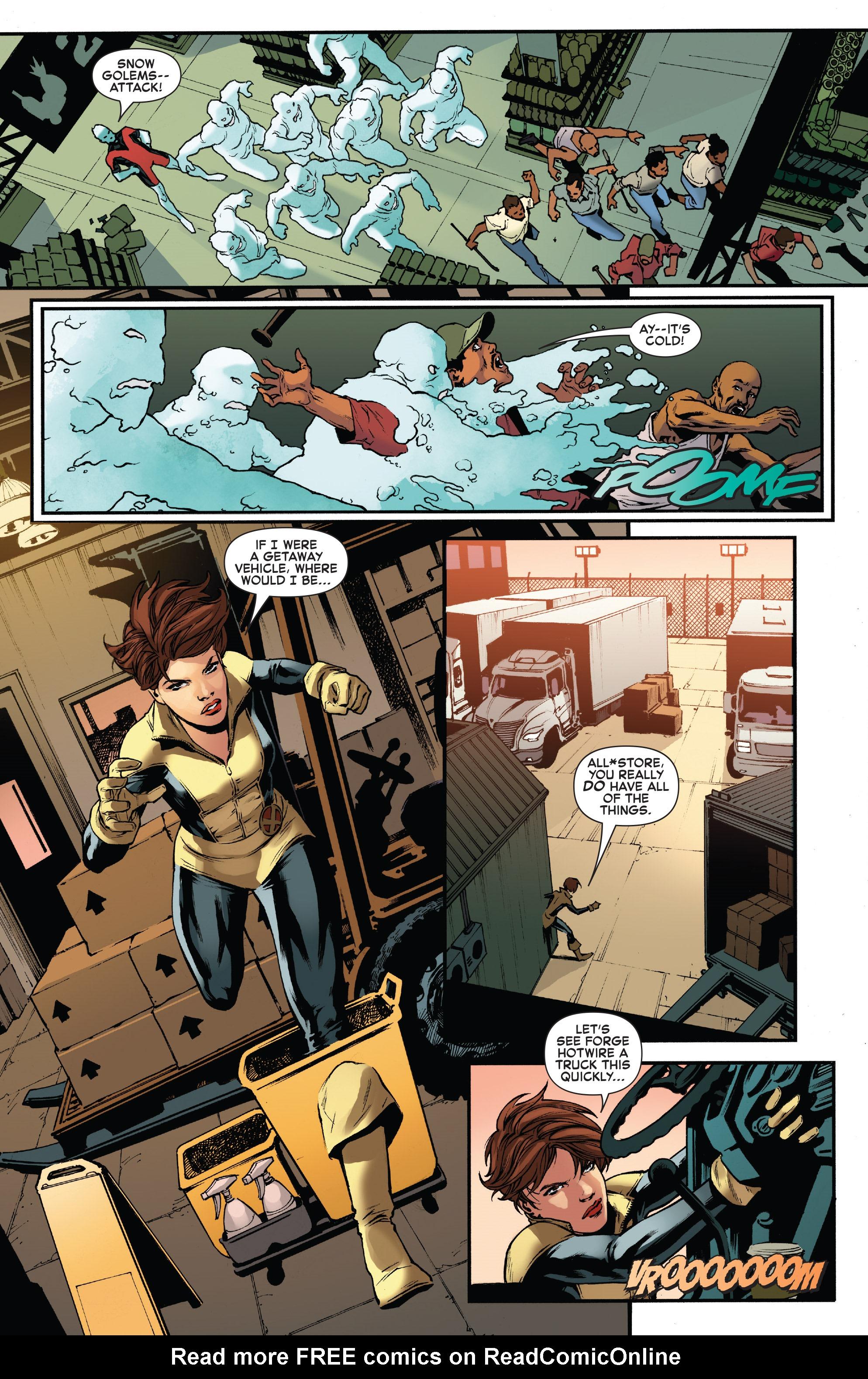 Read online Iceman (2017) comic -  Issue #2 - 19